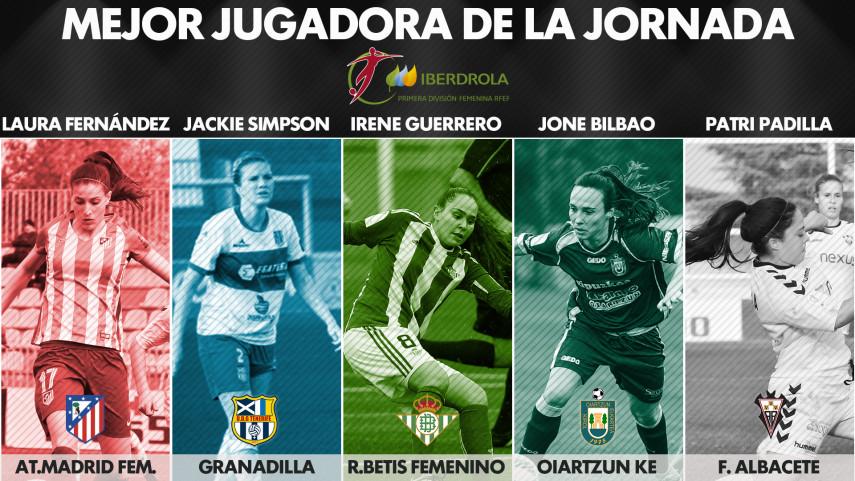 ¿Quién fue la mejor jugadora de la jornada 19 de la Liga Femenina Iberdrola?