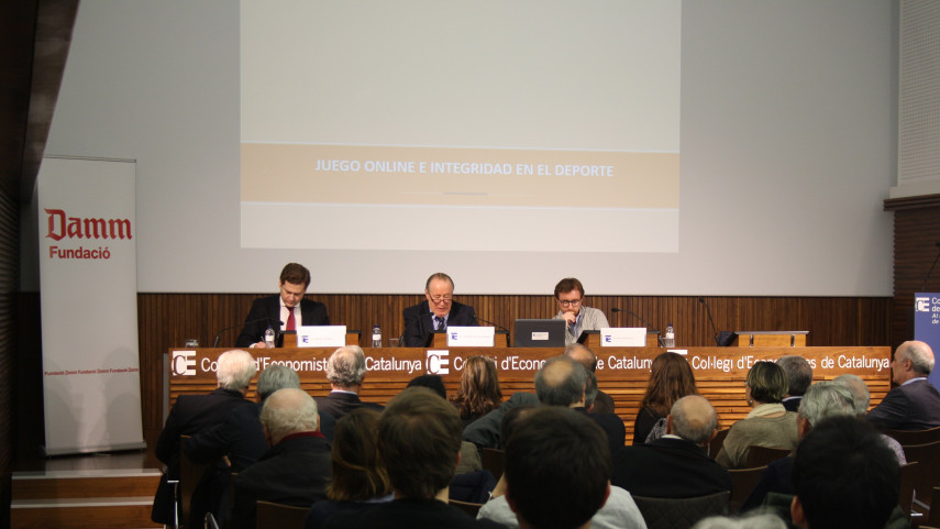 LaLiga y JDigital participan en una mesa redonda en el Colegio de Economistas de Cataluña