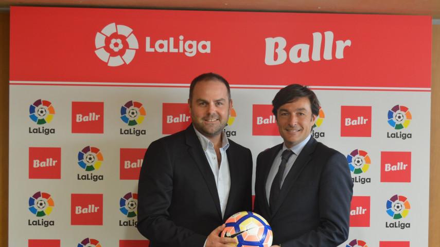 La plataforma de juegos Ballr, nuevo patrocinador de LaLiga