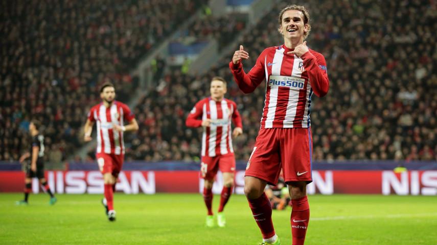 El Atlético reina en un festival de goles europeo