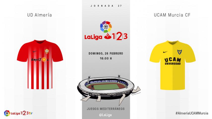 Mucho más que tres puntos para Almería y UCAM Murcia