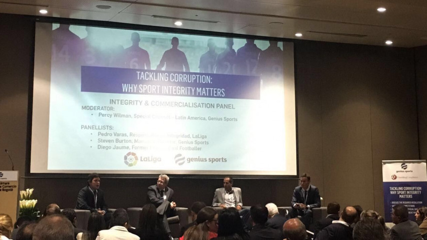 LaLiga participa en un seminario de Integridad celebrado en Colombia