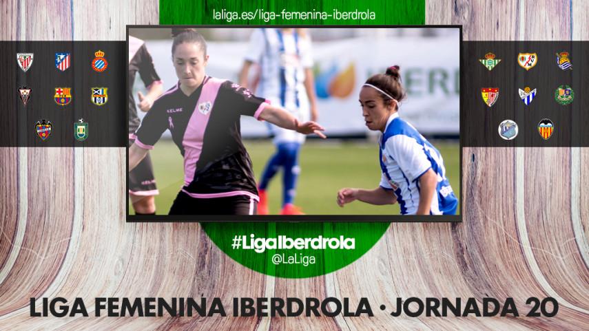 La Real Sociedad visita Vallecas para abrir la jornada 20 de la Liga Femenina Iberdrola