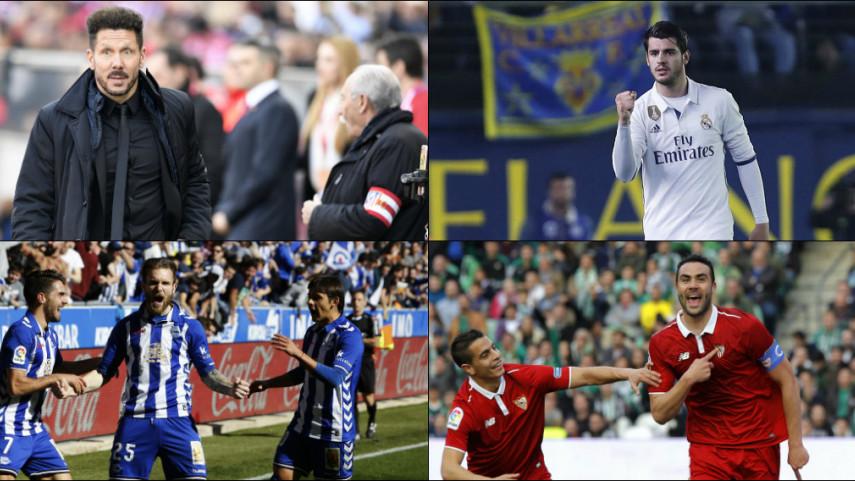 Los números de la jornada 24 de LaLiga Santander