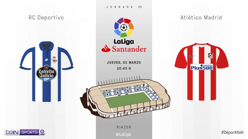 El 'nuevo' Deportivo de Pepe Mel se estrena ante el Atlético