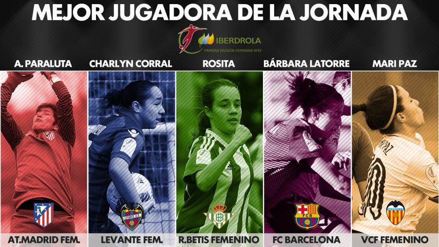 ¿Quién fue la mejor jugadora de la jornada 20 de la Liga Femenina Iberdrola?