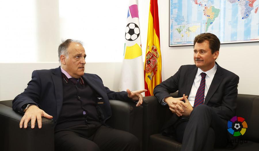 Посол Украины обсудил с президентом Ла Лиги ситуацию вокруг Зозули
