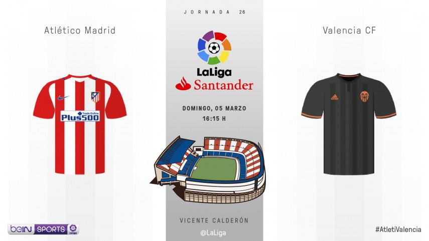 Atlético y Valencia quieren volver a brillar