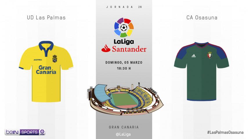 La contrarreloj de Osasuna comienza en Gran Canaria
