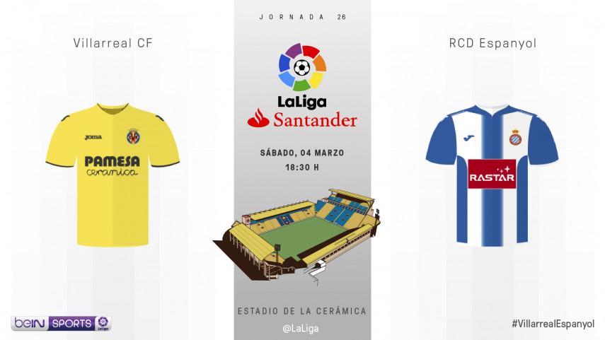 El Villarreal mide el buen momento de forma del Espanyol