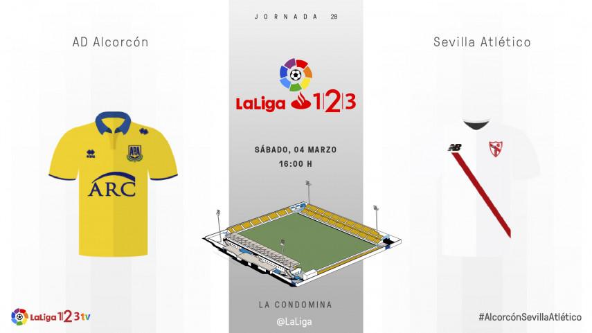 Alcorcón y Sevilla Atlético quieren cambiar la dinámica