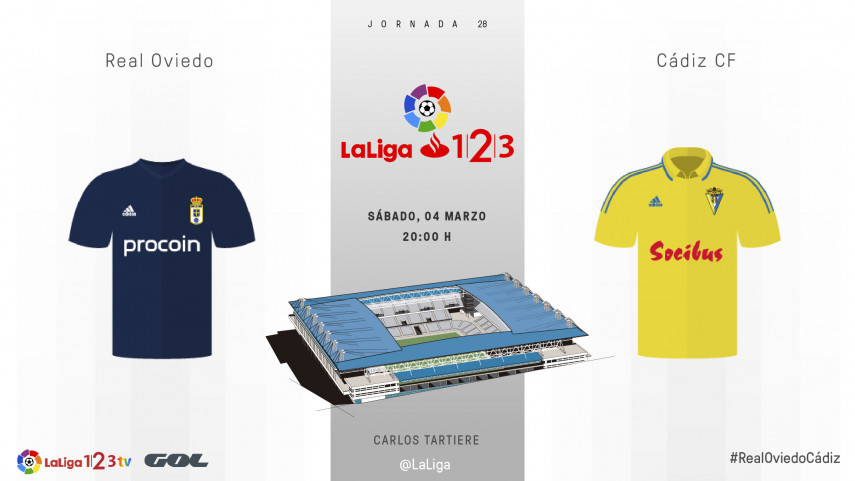 Real Oviedo y Cádiz quieren sacar billete de play-off