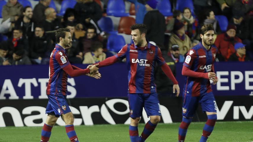 Jornada propicia para Levante y Girona en LaLiga 1l2l3