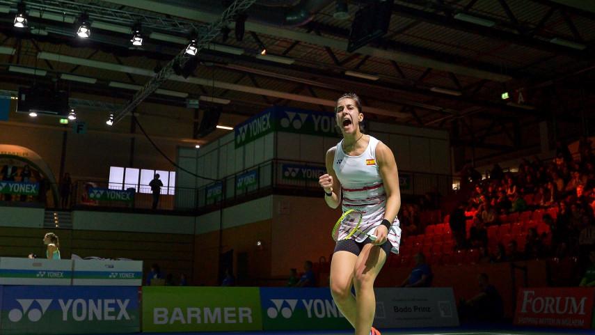 Carolina Marín estará en el All England de Birmingham de bádminton