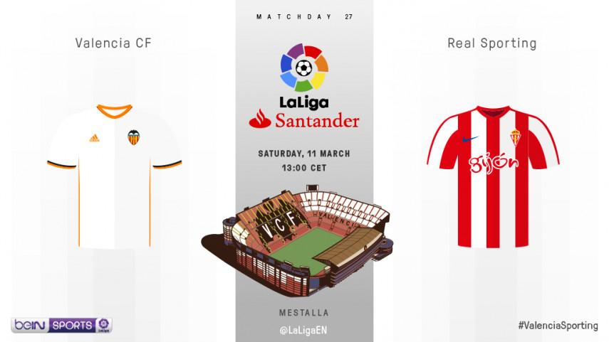 Valencia vying to maintain Mestalla form