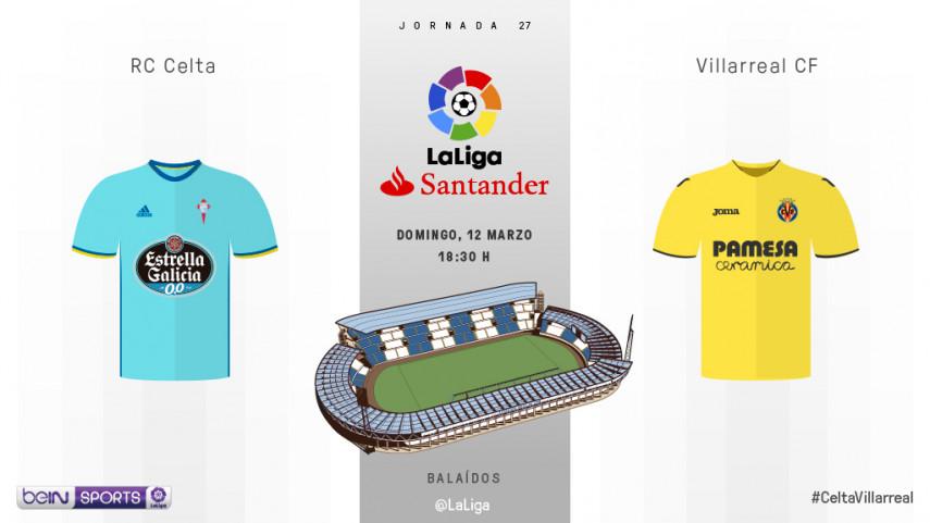 El Celta busca un golpe de efecto ante el Villarreal