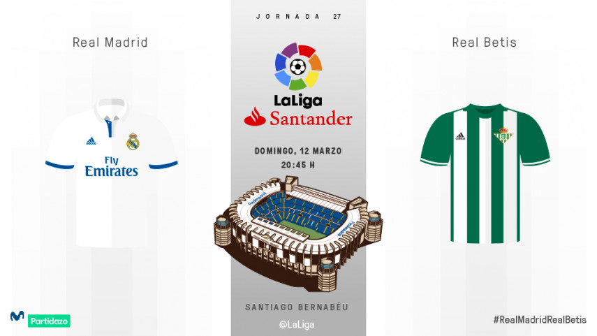 Examen para Real Madrid y Real Betis