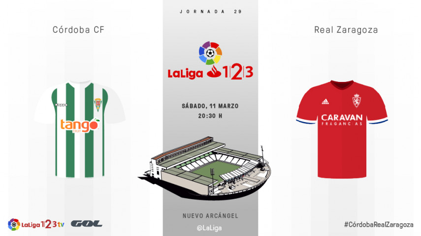 Córdoba y Zaragoza buscan empezar a mirar hacia arriba