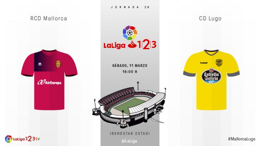 Mallorca y Lugo buscan un cambio de rumbo