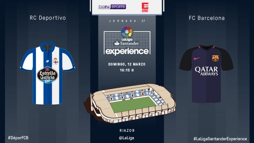Deportivo y Barcelona sacan sus mejores galas para recibir a los suscriptores de Eleven Sports y BeIN Sports Asia