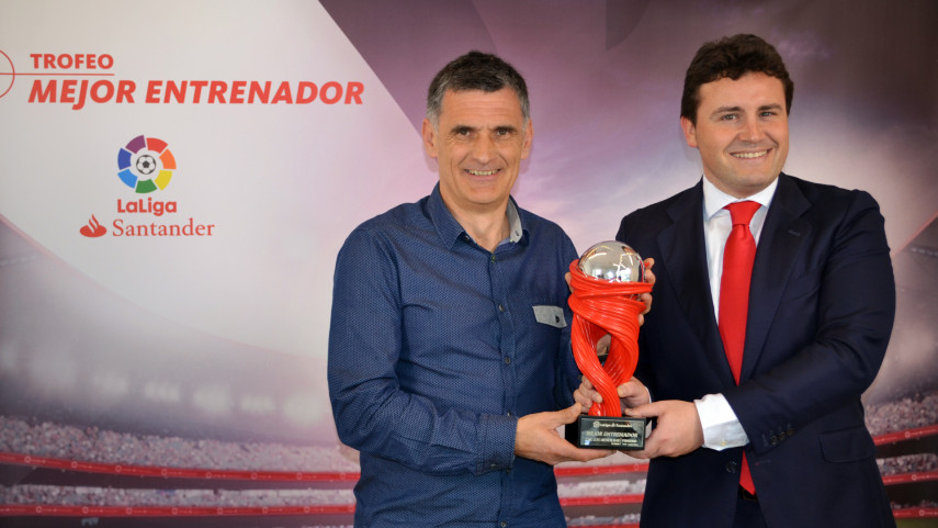 Jose Luis Mendilibar named LaLiga Santander Manager of the Month for February