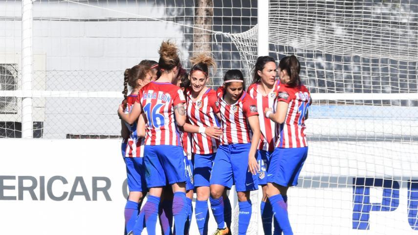 El At. Madrid Femenino no da tregua en la Liga Femenina Iberdrola