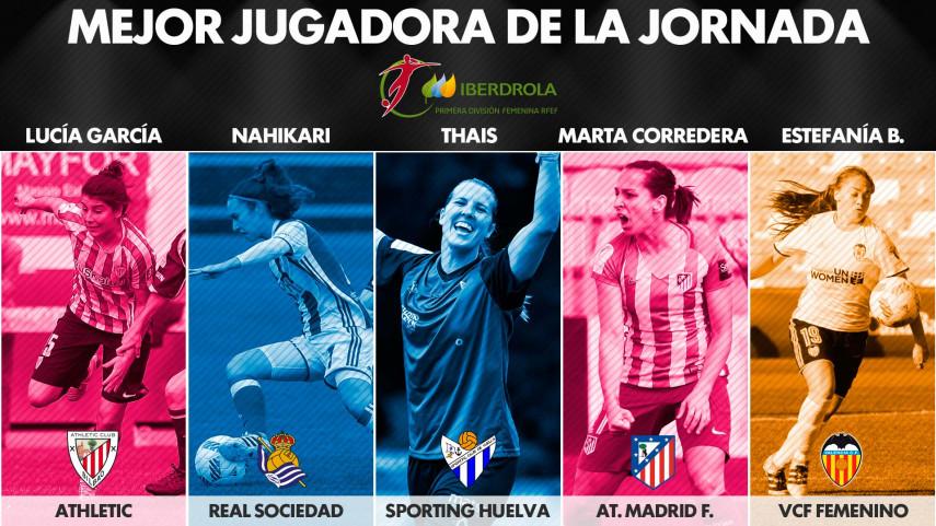 ¿Quién fue la mejor jugadora de la jornada 21 de la Liga Femenina Iberdrola?