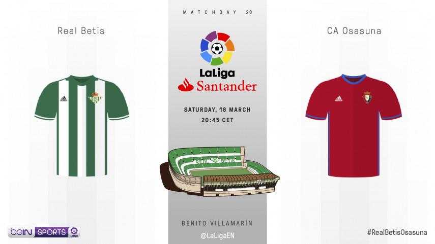 Osasuna's hopes for survival hinge on Benito Villamarin win