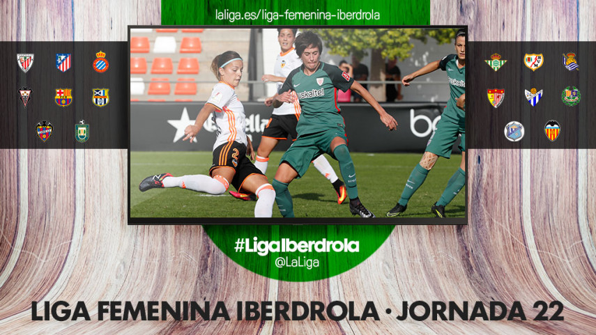 Athletic - VCF Femenino, duelo de altura para cerrar la jornada 22 de la Liga Femenina Iberdrola