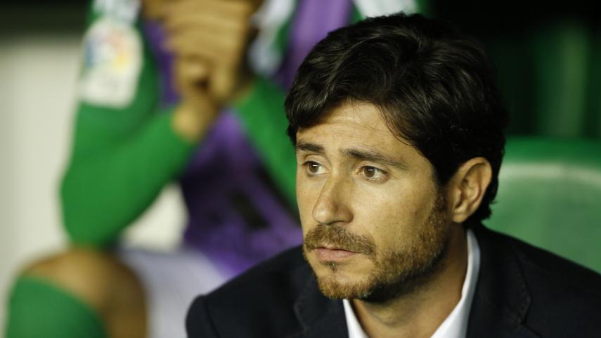 El R. Betis comunica la destitución de Víctor Sánchez del Amo