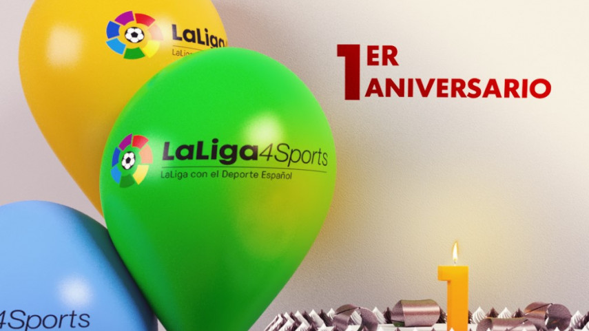 LaLiga4Sports cumple un año