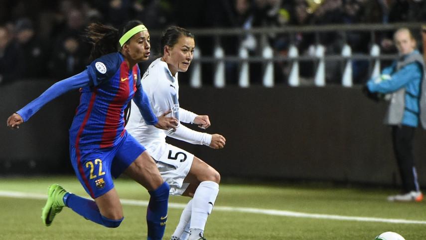 El FC Barcelona da el primer paso hacia las semifinales en Rosengard