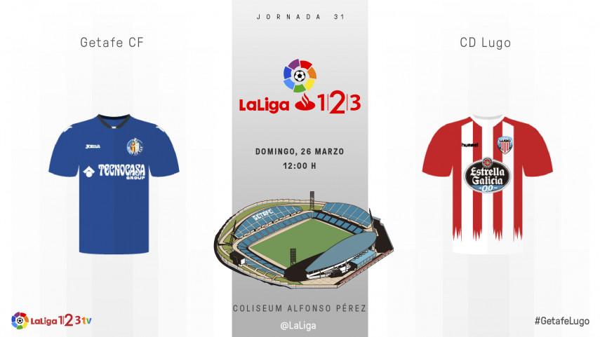 Getafe-Lugo, un solo objetivo: el play-off