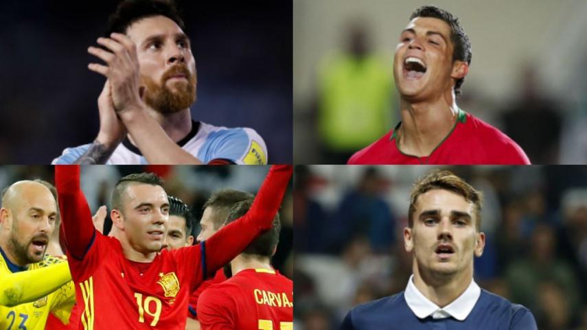 103 jugadores de LaLiga, convocados con sus selecciones absolutas