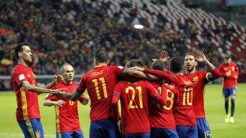 La selección española golea a Israel y se acerca al Mundial
