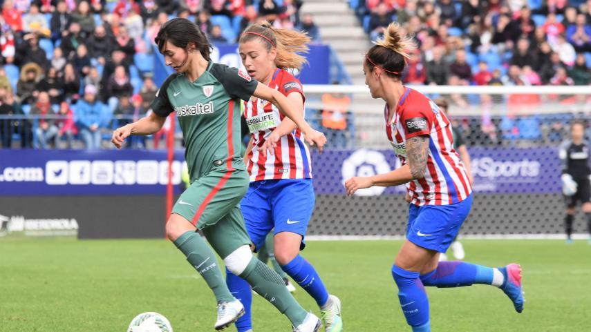 At. Madrid Femenino - Athletic, un duelo de altos vuelos