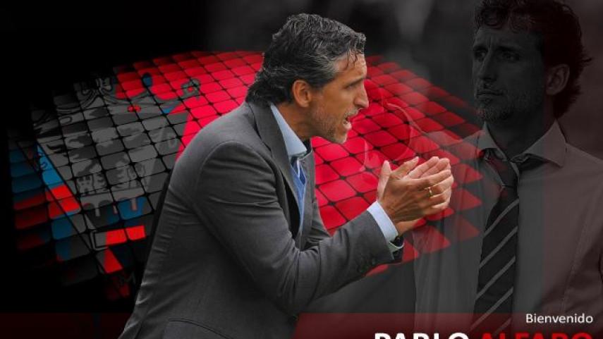Pablo Alfaro toma las riendas del CD Mirandés