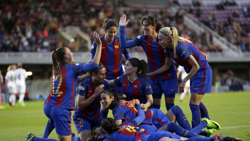 Histórico FCB Femení, a semifinales de la Champions