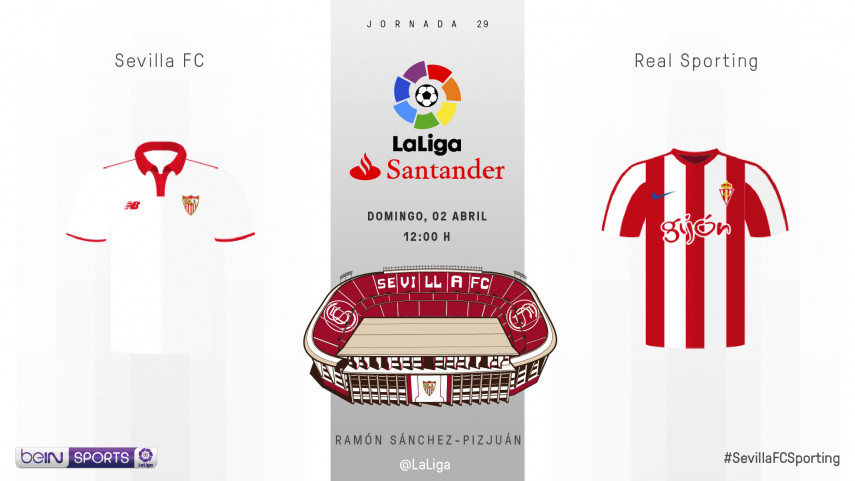 La confianza, protagonista del Sevilla - Sporting