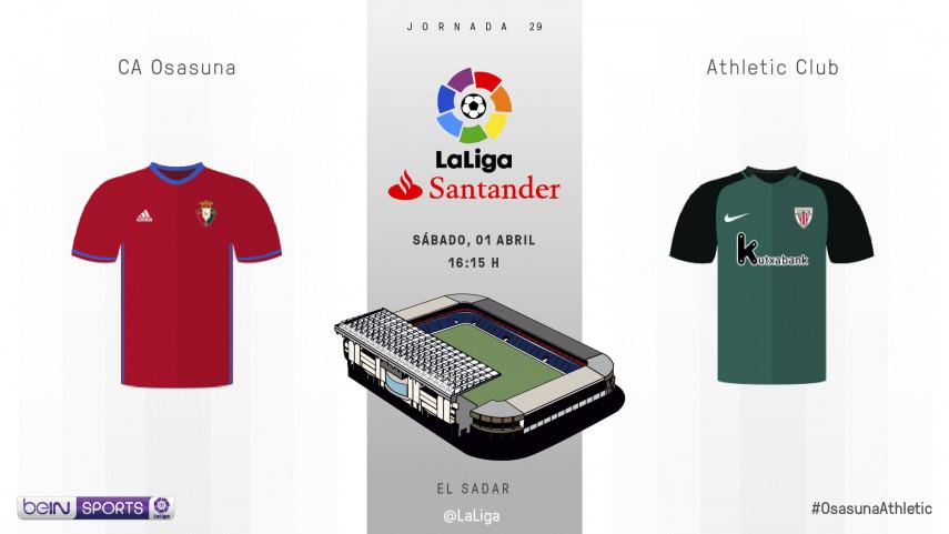 Osasuna quiere encontrar su mejor versión ante el Athletic