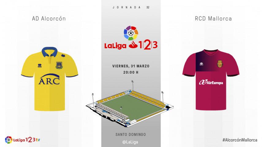 Ganar o ganar, no hay otra opción para Alcorcón y Mallorca