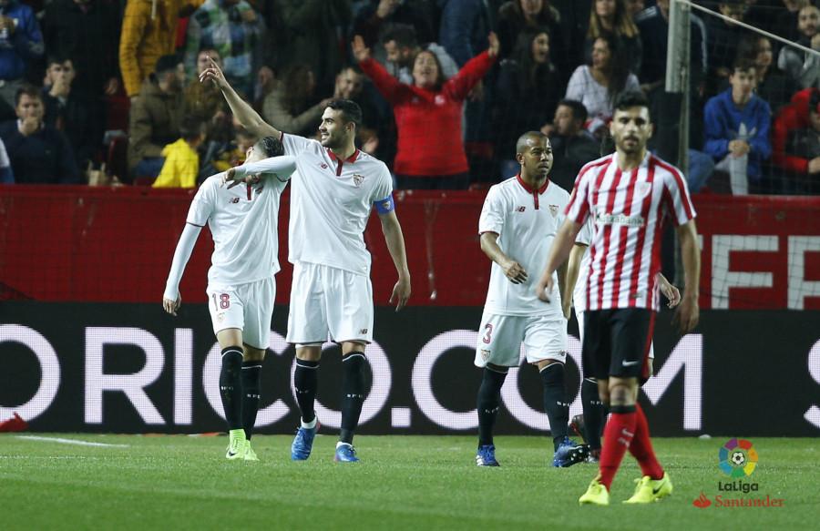 Trabajada victoria del Sevilla