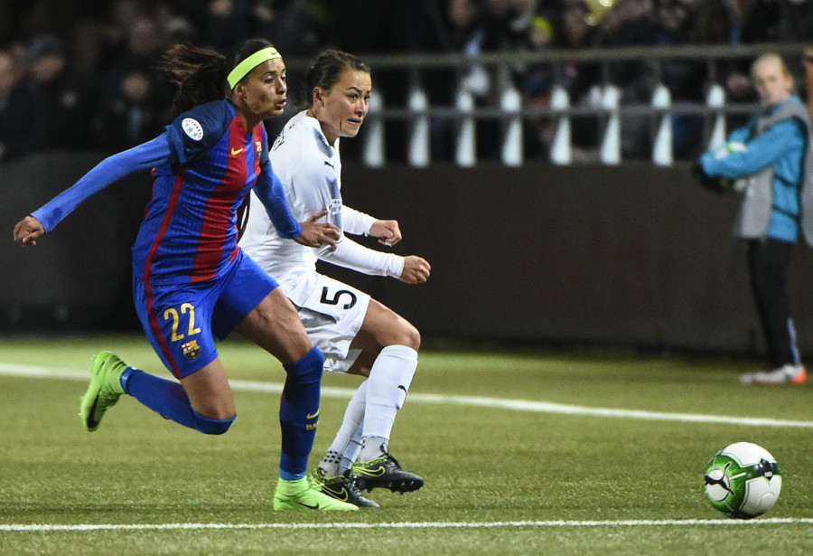 Image result for barcelona reach women's champions league semi finals