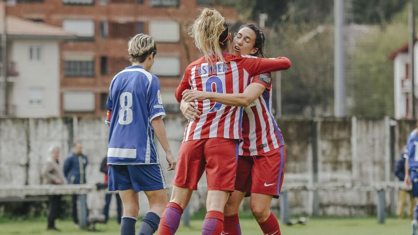El At. Madrid Femenino y el FC Barcelona mantienen el pulso por la Liga Femenina Iberdrola