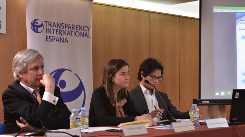 LaLiga participa en las jornadas organizadas por Transparencia Internacional-España