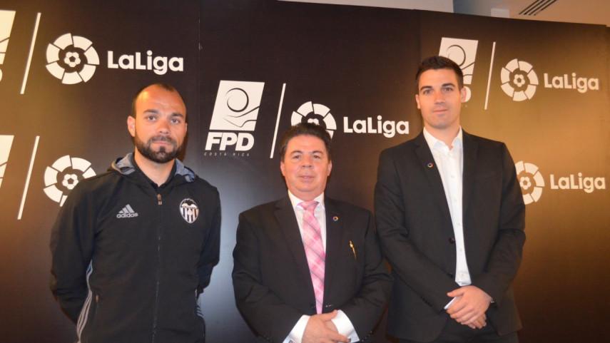 LaLiga imparte formación a 60 entrenadores de la Primera División de Fútbol Costa Rica