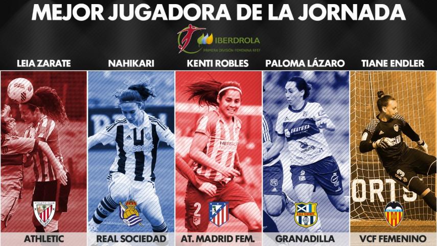 ¿Quién fue la mejor jugadora de la jornada 24 de la Liga Femenina Iberdrola?