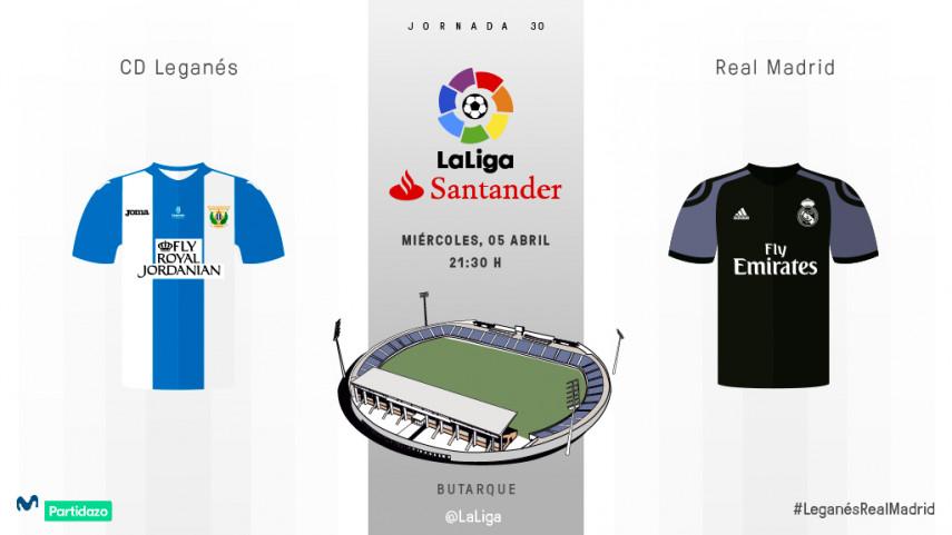 Butarque recibe al Real Madrid