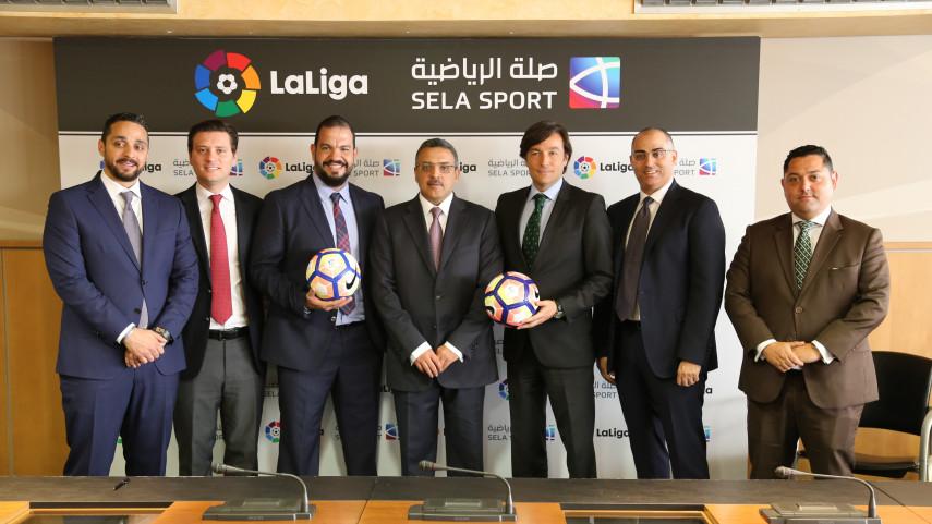 Sela Sport, nuevo socio comercial de LaLiga en Oriente Medio y norte de África