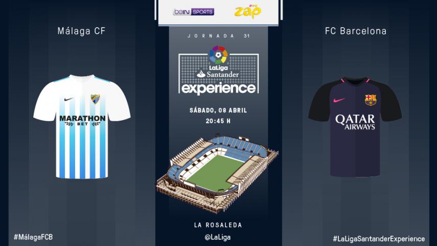 Málaga y La Rosaleda ya están listos para recibir a BeIN SPORTS MENA y ZAP
